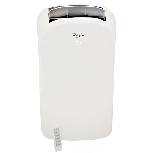 Whirlpool 14,000 BTU Dual-Exhaust Portable Air Conditioner with Remote...