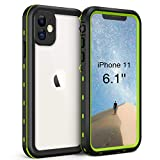 Waterproof Case for iPhone 11 (6.1 inch), Full Sealed IP68 Cover for...