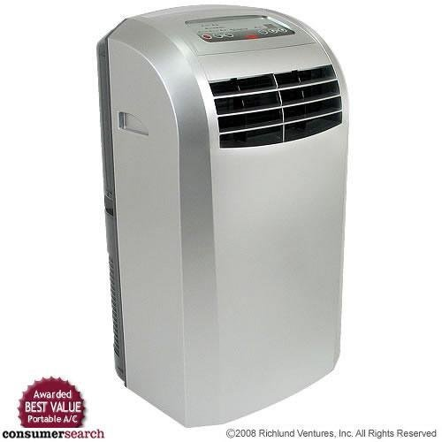 EdgeStar AP12000S Portable Air Conditioner with Dehumidifier and Fan...