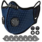 AstroAI Dust Mask Reusable Face Mask with Filters,Adjustable for...
