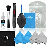 Professional Camera Cleaning Kit for DSLR Cameras (Canon, Nikon,...