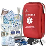 deftget 163 Pieces First Aid Kit Waterproof IFAK Molle System Portable...