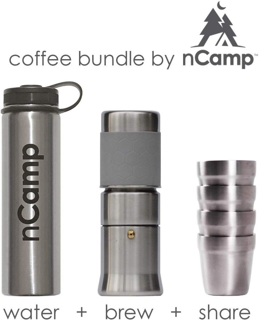 nCamp Camping Coffee Kit