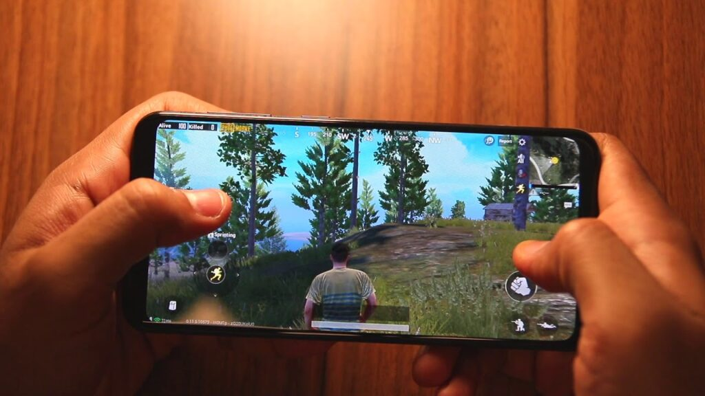 PUBG on Samsung Galaxy A20
